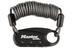 Masterlock 1551 Karabiner-Kabelschloss 900 mm x 60 mm schwarz
